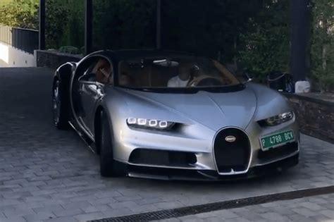 Tested and approved by a champion #cr7xbugatti. Benzema viu Bugatti Chiron de CR7 e não resistiu a comprar um! - Actualidade - Aquela Máquina