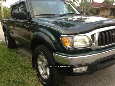 2002 Toyota Tacoma Extended 4 Cylinder 4 Doors