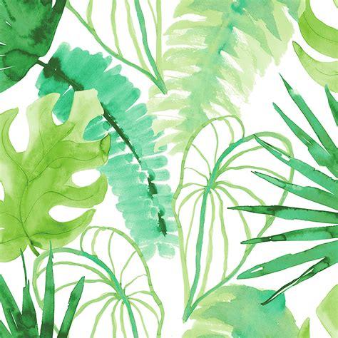 vill ha slingrande vaexter stora blommor och palmblad