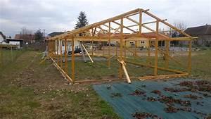 Fabriquer Une Serre En Bois : construire une serre en bois 2 youtube ~ Melissatoandfro.com Idées de Décoration