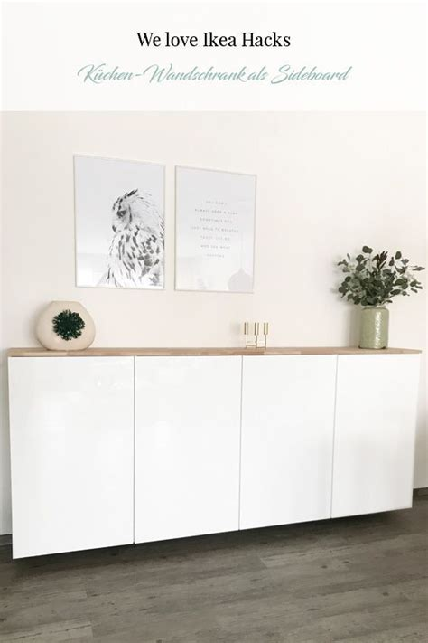 Ikea Küchenschrank Boden by Ikea Hack Metod K 252 Chenschrank Als Sideboard Als Hack