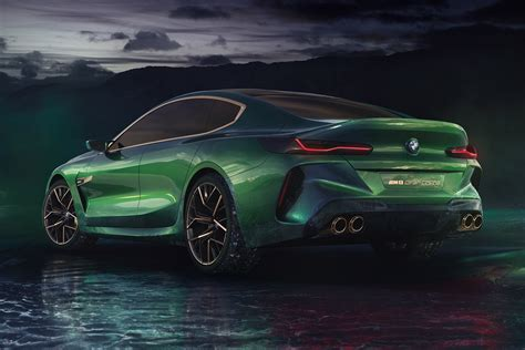 Check Out The Fierce And Futuristic Bmw Concept M8 Gran