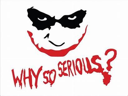 Serious Why Joker Stencil Heath Computer Ledger