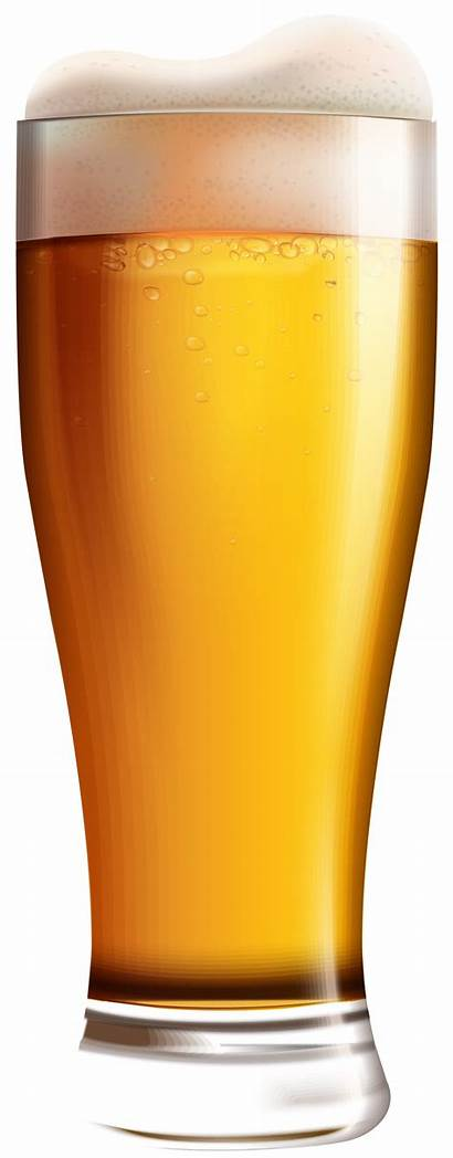Beer Clip Glass Clipart Drinks Yopriceville Transparent