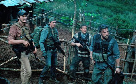 review triple frontier howard  film