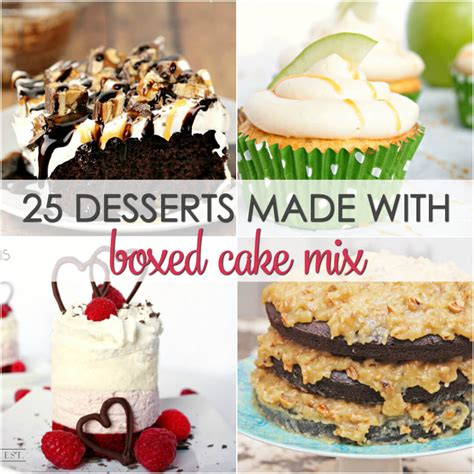 desserts   boxed cake mix    keeper