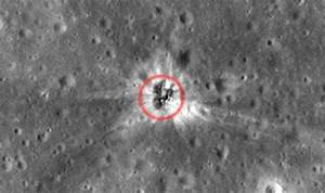 Final Proof Man Walked On Moon  Nasa Finds Apollo Crash Site On Lunar Surface