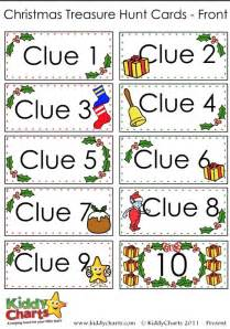 Halloween Scavenger Hunt Clues Riddles by Christmas Scavenger Hunt Free Printable Clue Cards For Kids