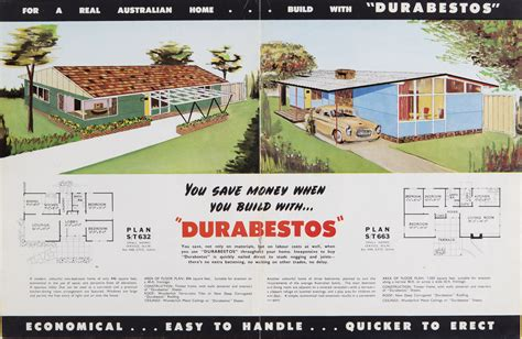 cottage home plans small post war sydney home plans 1945 to 1959 sydney living