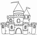 Castle Clipart Coloring Printable Castles Colouring Tower Dragon Sheets Eiffel Clipground Cliparts Gingerbread Building Cool2bkids sketch template
