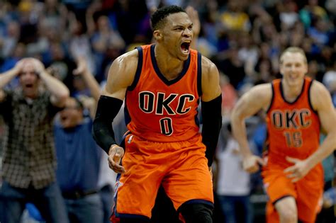 Wizards guard russell westbrook had to be held back by arena security staff after popcorn was dumped on his head by a fan as he exited wednesday night's game in philadelphia with a right ankle injury. Reliving Russell Westbrook's best moments from his OKC ...