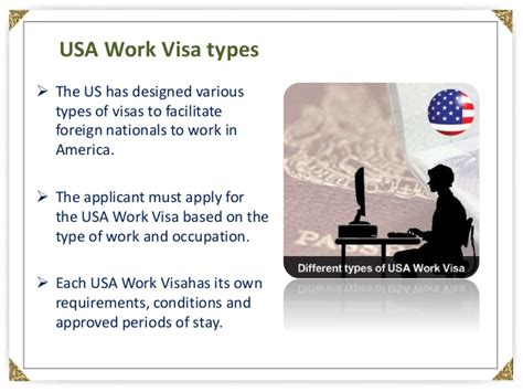 Different Types Of Usa Work Visa
