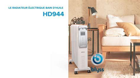 Radiateur Electrique Blyss. Pack Volutif Alarme Blyss