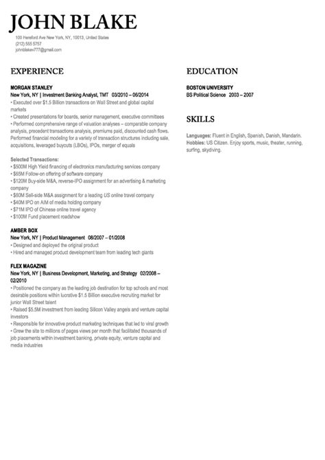 Need A Resume Template by 30 Resume Templates Make Your Resume Velvet