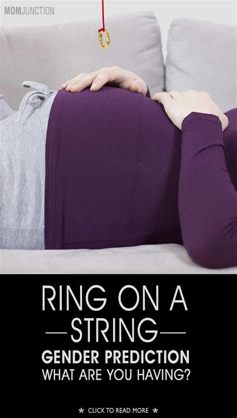 ring a string gender test is it a or a everything baby gender test gender