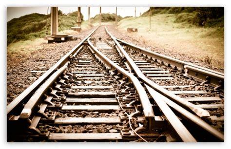 Train Tracks 4k Hd Desktop Wallpaper For 4k Ultra Hd Tv