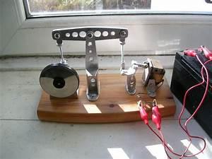 12v Solenoid Beam Engine  Built From Aluminium Scraps And