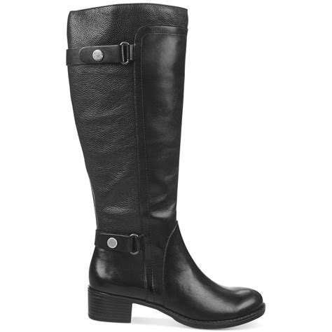 franco sarto crash wide calf riding boots black lyst
