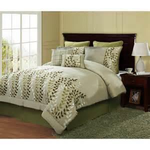 meadow 8 piece comforter bedding set walmart com