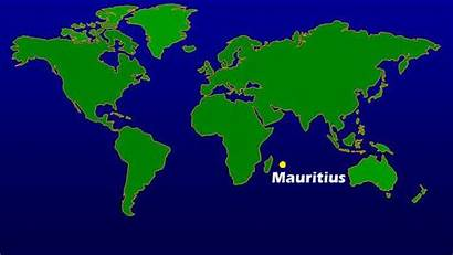 Mauritius Map Showing Argentina Facts Island Country