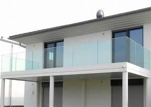 Balkongeländer Glas Anthrazit : balkongel nder glas gel nder pure mit glasf llung leeb balkone und z une ~ Michelbontemps.com Haus und Dekorationen