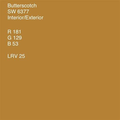 butterscotch sherwin williams colors i enjoy