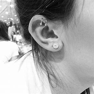 Double Cartilage Piercing Information Guide with Example ...