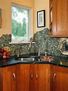 17 cool cheap diy kitchen backsplash ideas to revive for Cheap kitchen backsplash diy