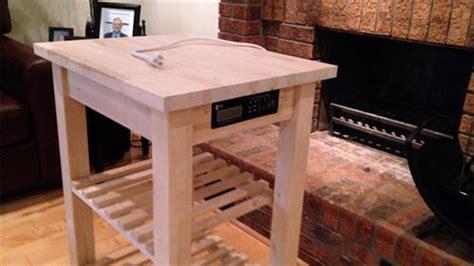 DIY Pallet Kitchen Cart   Pallets Designs