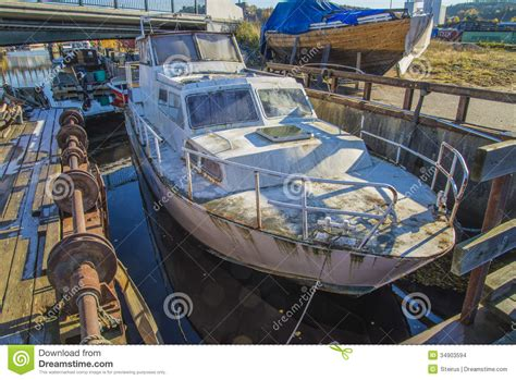 Big Boat In Rust by Big Steel Boat Stock Photo Image Of Engine
