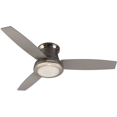 how to change light bulb in harbor breeze ceiling fan shop harbor breeze sail stream 52 in brushed nickel indoor