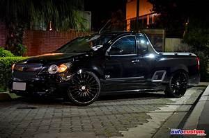 Auto Custom Brasil  Montana 2012 Com Rodas Aro 20 Pretas E Suspens U00e3o A Ar