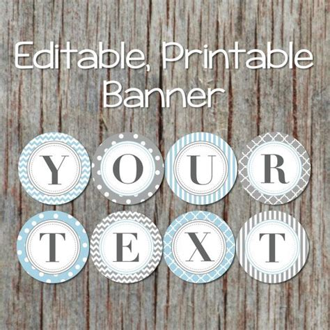 editable banner   occasion baby shower birthday