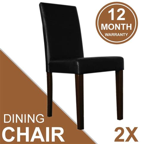black stylish set of 2 cheap kitchen dining chairs of