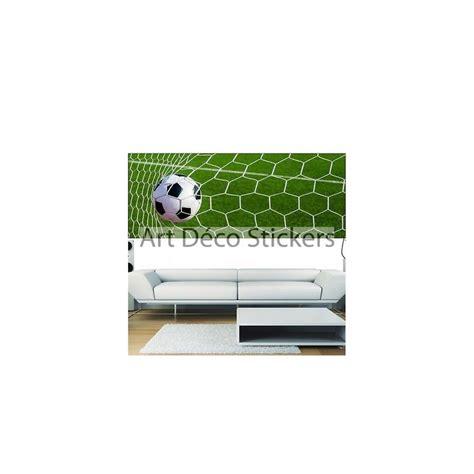 papier peint panoramique ballon de foot 3694 stickers