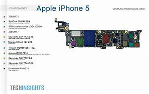 Apple Iphone 5 Communication Board  Back