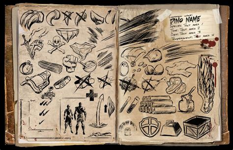dossier template community albums ark official