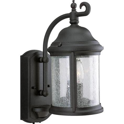 outdoor wall sconces lighting progress lighting p5854 31 motion sensor traditional
