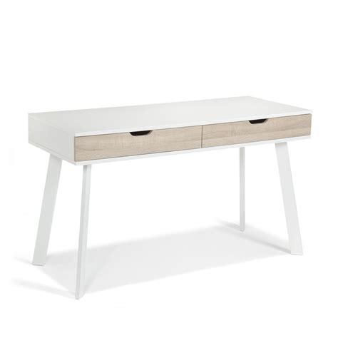 le bureau pas cher bureau à tiroirs style scandinave aquila bureau alinea