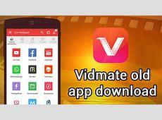 Old Vidmate App Download