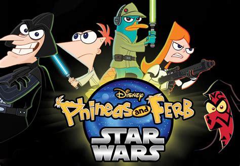 fecha de estreno en mexico  phineas  ferb star wars