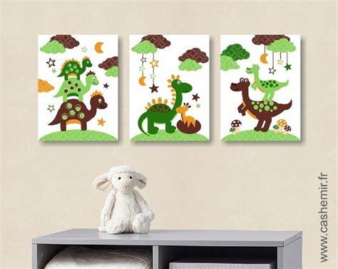 chambre d enfants garcon affiche pour chambre d 39 enfant et bébé garçon dinosaure