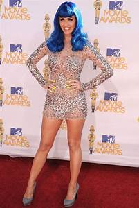 Surprise...it's Katy Perry rockin the Zuhair Murad dress ...