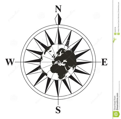 compass black and white black and white compass royalty free stock images image