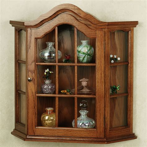 curio cabinets for wall mounted curio cabinet homesfeed
