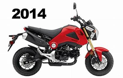Honda Grom Motorcycle Animated Msx125 Streetfighter Gets