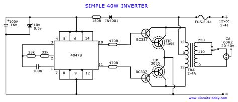 inverter circuit page  power supply circuits nextgr