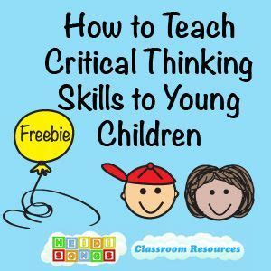 best 25 critical thinking ideas on 872 | 8b33230cacc0c27cce198b5a09c05db3 preschool education teaching kindergarten