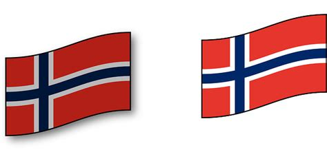 Aurora Lights by Free Vector Graphic Norway Scandinavia Flag Country