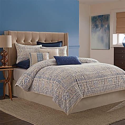 buy wamsutta tapestry comforter set  blue  bed bath